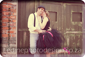 Vintage Couple Photo Shoot